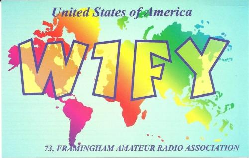 W1FY QSL Card